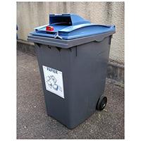 poubelle tri selectif 240l