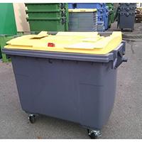 poubelle tri selectif 660l