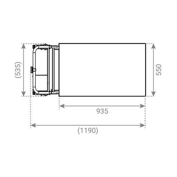 plan table elevatrice inox electrique 2