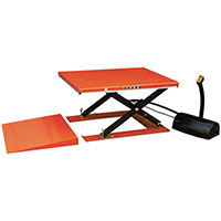 table electrique extra plate 1000