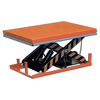 table elevatrice electrique charge max 4000kg