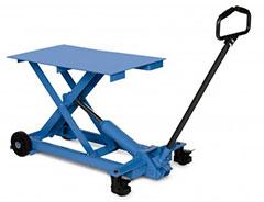 Table élévatrice extra-plate levée max