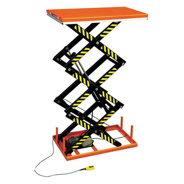 table elevatrice electrique trois ciseaux SHT