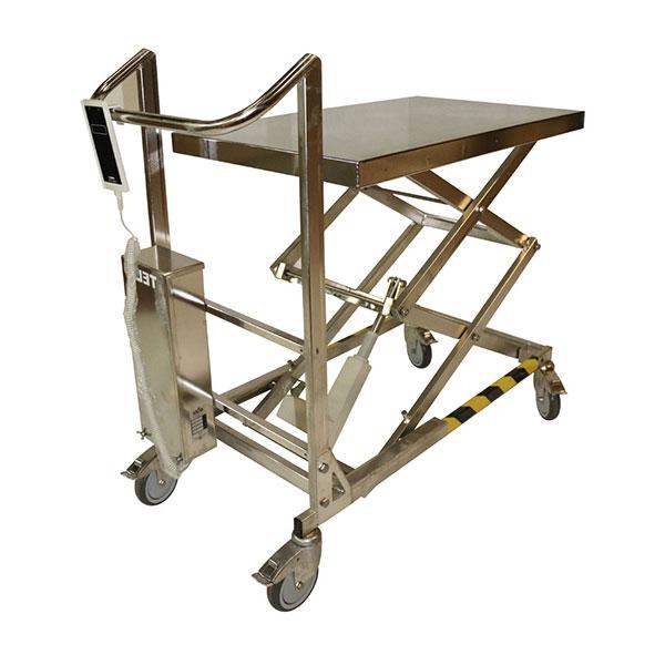 table elevatrice inox electrique