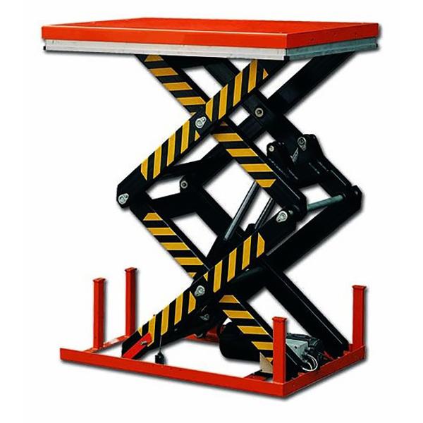 Table élévatrice grande haueur électrique deux ciseaux