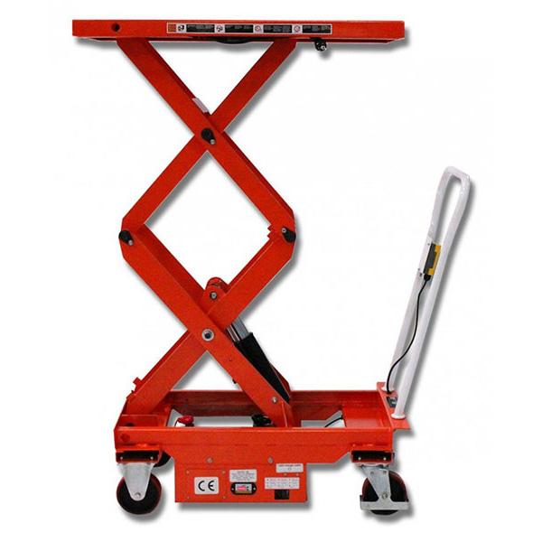 table grande hauteur semi electrique
