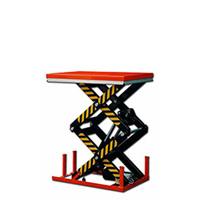 Table élévatrice électrique grande hauteur deux ciseaux