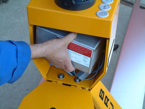 Batterie transpalette peseur atex