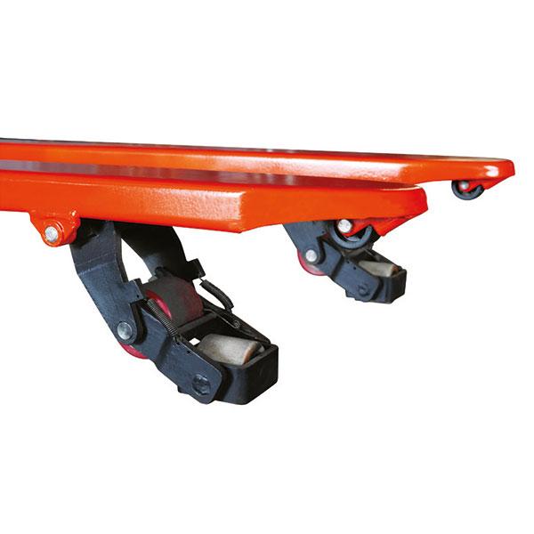 roues transpalette manuel 4 directions ACTWO15