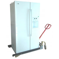 Transpalette reglable electromenager