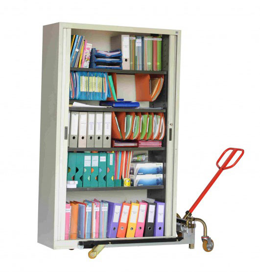 transpalette variable armoire