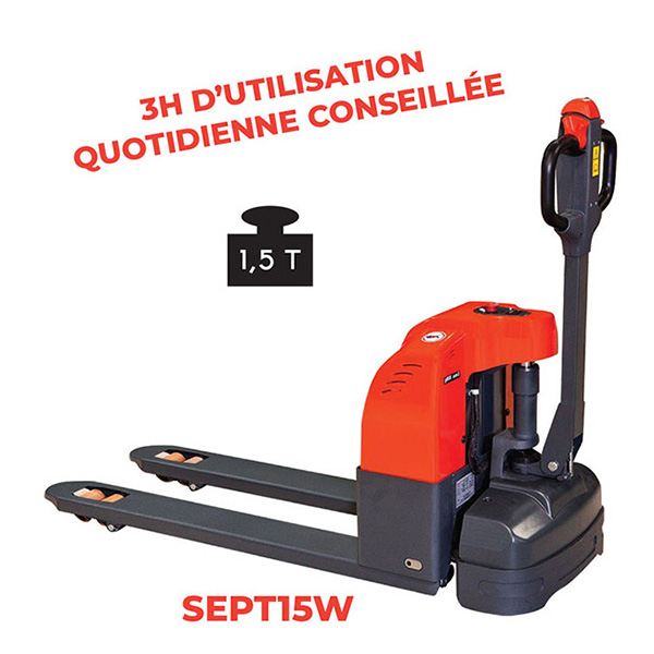 transpalettes electriques SEPT15W