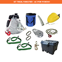 kit de tirage forestier