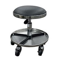 werkstatthocker mit ablage universeller beweglicher. Black Bedroom Furniture Sets. Home Design Ideas