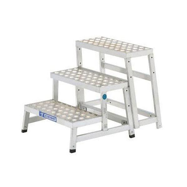 trittleiter modul alu 3 stufen